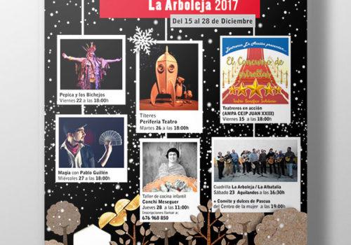 RosikaBello | Cartel fiestas La Arboleja