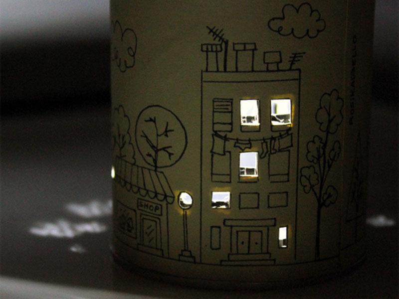 RosikaBello | Lámpara encendida