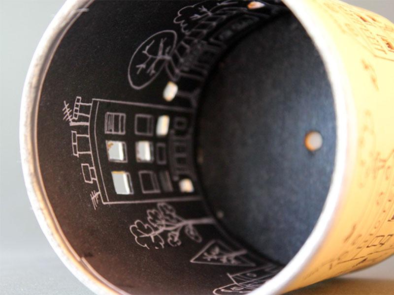 RosikaBello | Ilustración interior lámpara